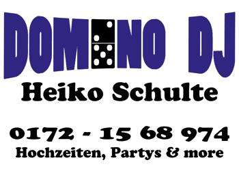 Domino DJ Heiko Schulte, Samstag 11.08. ab 19 Uhr im Dudelsack Stadthagen